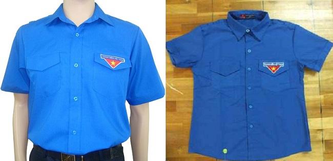 Các mẫu áo đoàn thanh niên thông dụng hiện nay