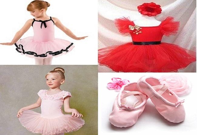 Cách chọn váy múa bale cho bé