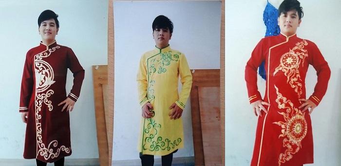 Cho thuê áo dài cách tân nam giá rẻ tại TPHCM