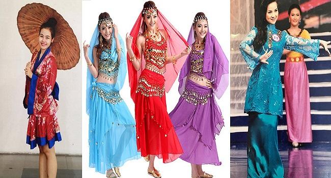 Cho thuê trang phục châu Á quận Bình Thạnh