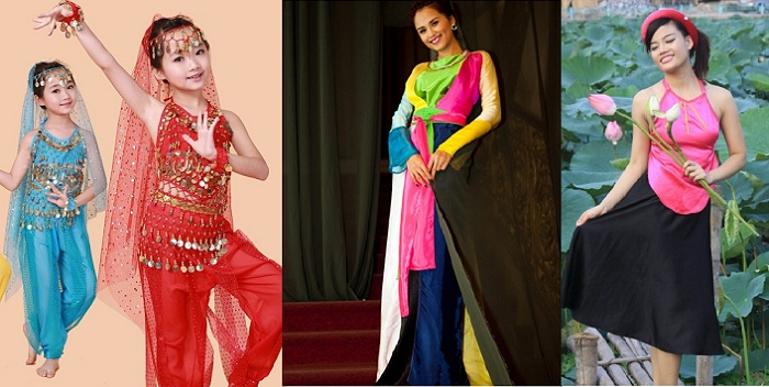 Cho thuê trang phục múa quận Bình Thạnh