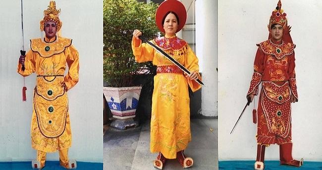 Cho thuê quần áo tướng quân quận Bình Thạnh