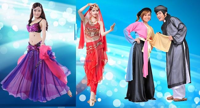 Cho thuê trang phục biểu diễn giá rẻ tại TPHCM