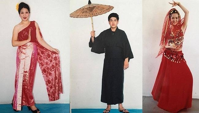 Cho thuê trang phục Châu Á quận 1 TPHCM