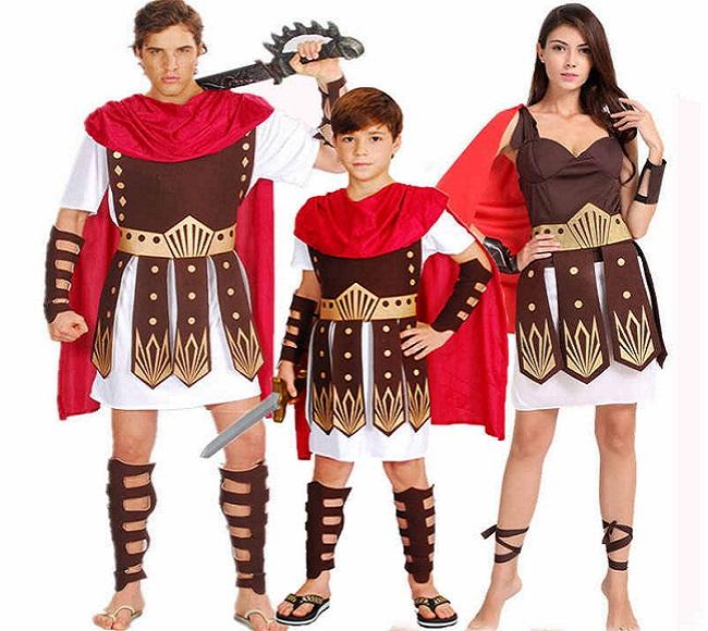 Cho thuê trang phục chiến binh La Mã