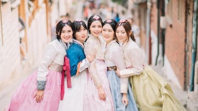 Cho thuê trang phục Hàn Quốc