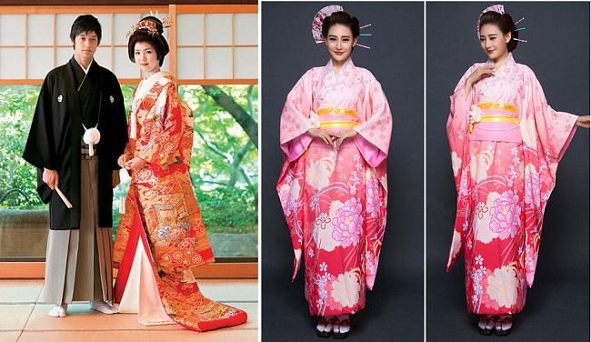 Cho thuê trang phục kimono nam nữ