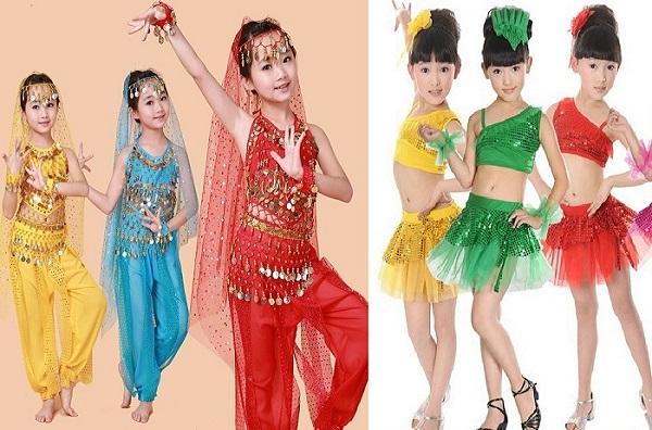 Cho thuê trang phục múa trẻ em Bình Dương