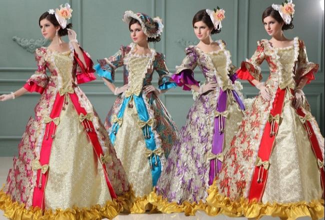 Cho thuê trang phục quý tộc châu Âu