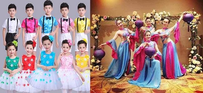 Lựa chọn trang phục biểu diễn sao cho phù hợp?