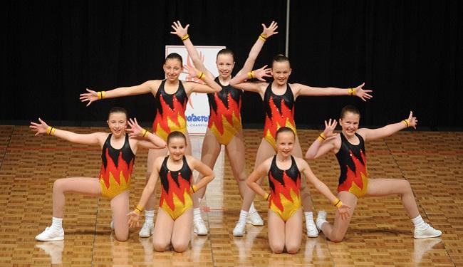 Tầm ảnh hưởng của trang phục với điểm số bài thi nhảy aerobic