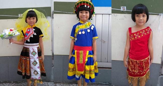 Thuê quần áo dân tộc cho bé