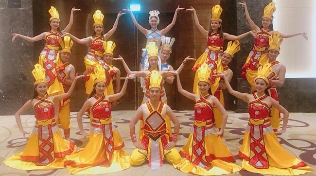 Thuê trang phục múa Âu Lạc