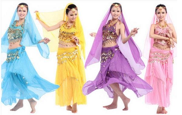 Thuê trang phục múa Ấn Độ tại TPHCM