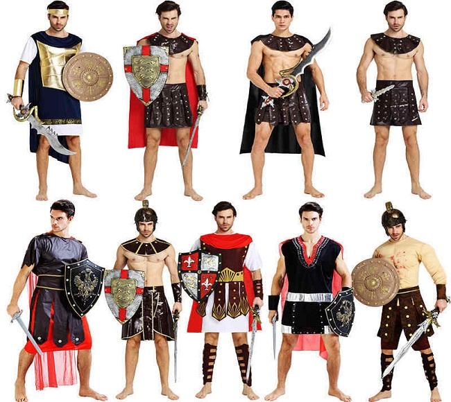 Trang phục chiến binh La Mã