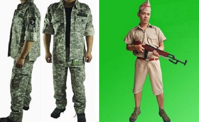 Trang phục lính Pháp Mỹ giá bao nhiêu tiền?