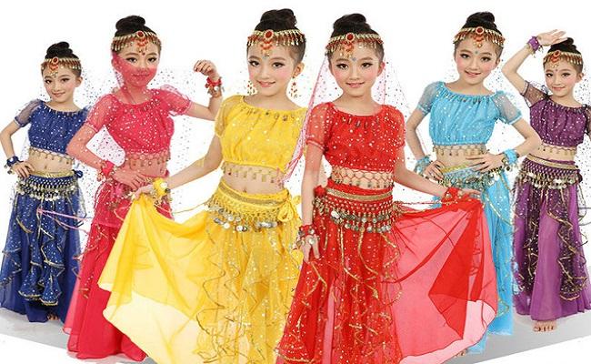 Cho thuê trang phục múa Ấn Độ tại TPHCM