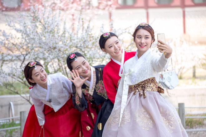 Trang phục tết Nguyên Đán của Hàn Quốc