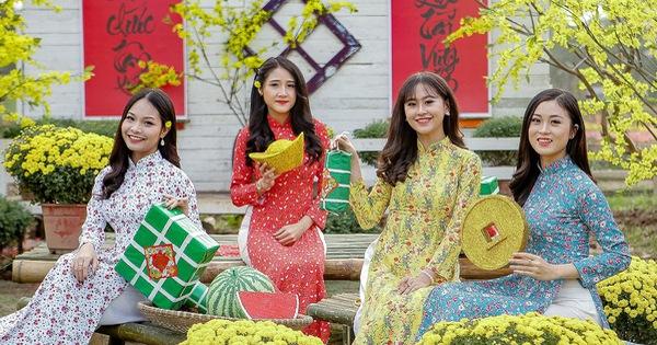 Trang phục tết Nguyên Đán của Việt Nam