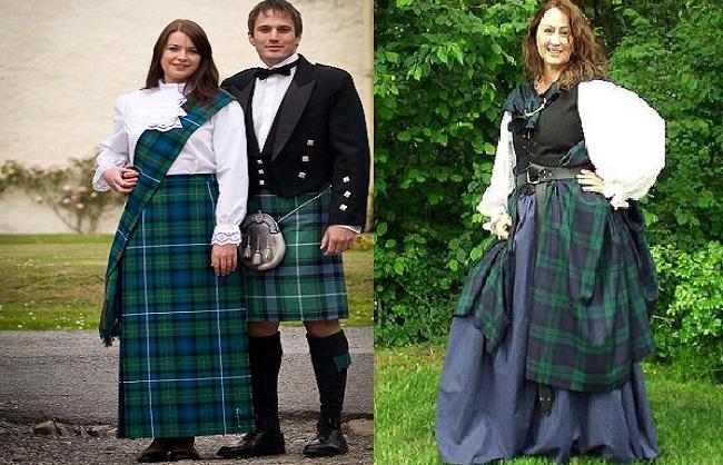 Trang phục truyền thống của nước Anh