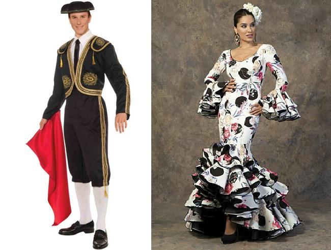 Trang phục truyền thống Tây Ban Nha